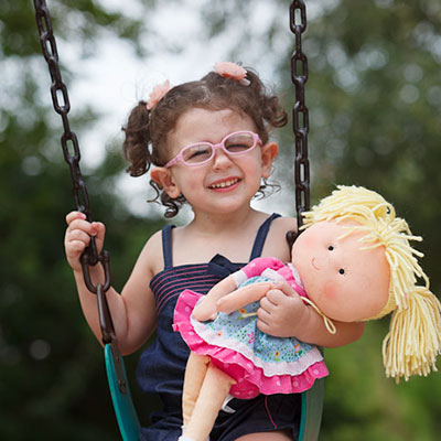 Gift Sets Girl with Rare Condition on an Easier Path